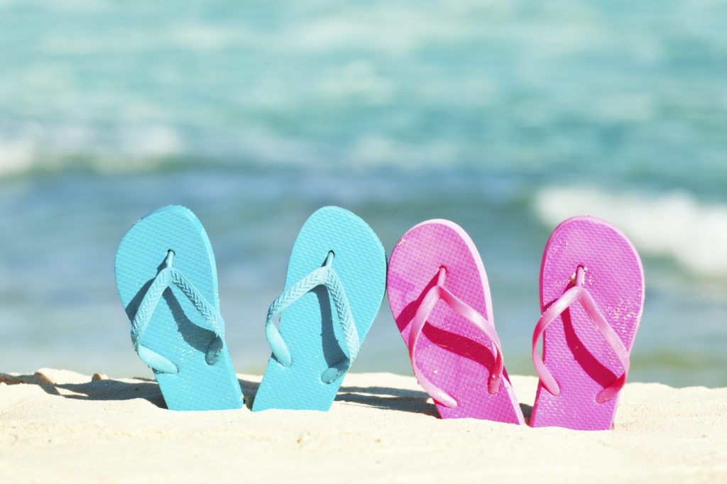 5 facts why flip-flops are bad for your feet